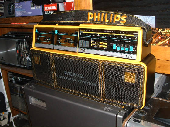 Boombox ghetto blasters and bfr 39 s big freakin 39 radios - Phillips ghetto blaster ...